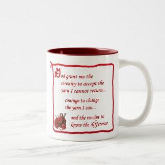 Yarnaholic mug