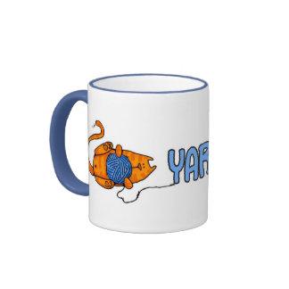 yarnaholic ringer mug