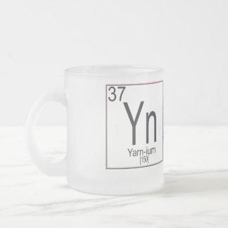 Yarnium Frosted Glass Coffee Mug