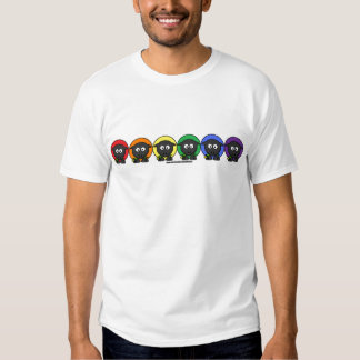 Yarnoholics Anonymous Fluffy Rainbow Sheep T-Shirt