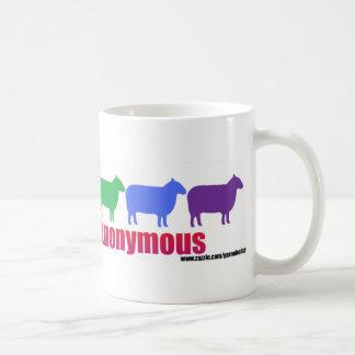 Yarnoholics Anonymous Rainbow Sheep Coffee Mug