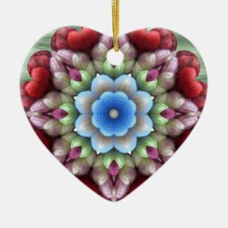 YARNS5.jpgwool fiber flower Ceramic Ornament