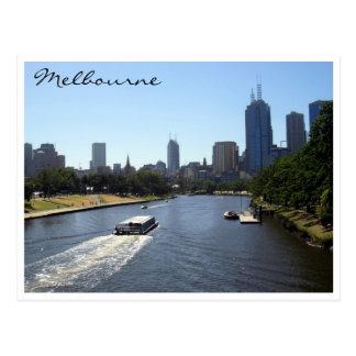 yarra melbourne postcard