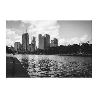 Yarra River Melbourne Canvas Print