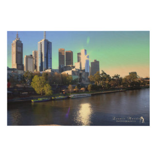Yarra River Melbourne Wood Print