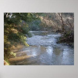 Yarra River Ramblings - Victoria Poster