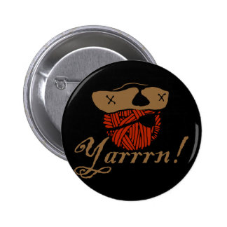 Yarrn Pinback Button