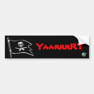 YarrrRT Ship Bumper Sticker