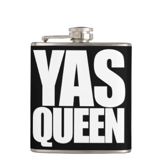 YAS queen Flask