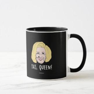 Yas Queen Hillary - Politiclothes Humor - Mug