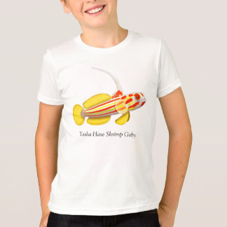 Yasha Hase Goby Coral Reef Fish Kids T-Shirt