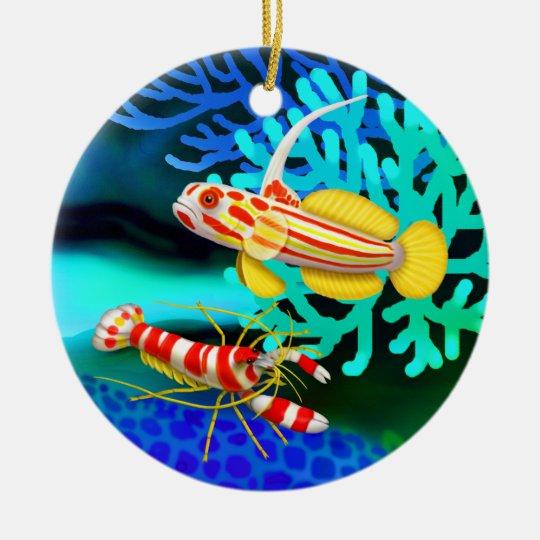 Yasha Hase Goby & Pistol Shrimp Ornament