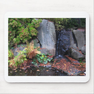 Yashiro Garden Water Feature - Photograph Mouse Pad