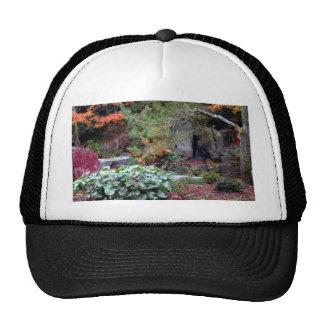 Yashiro Japanese Garden in Fall - photograph Trucker Hat