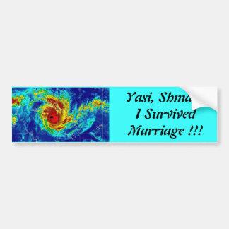 Yasi, Shmasi Bumper Sticker