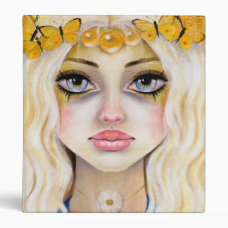 Yasi the Yellow Queen Binder