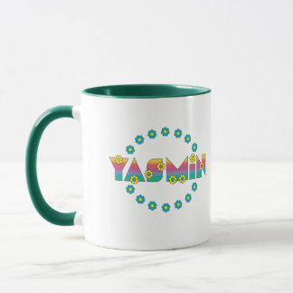 Yasmin in Flores Rainbow Mug
