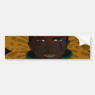 Yasmin Warsame Reference 2 (Paint.net) Bumper Sticker