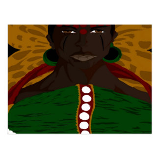 Yasmin Warsame Reference 2 (Paint.net) Postcard