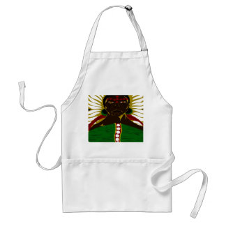 Yasmin Warsame Reference 3 (Paint.net) Adult Apron
