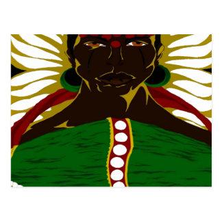 Yasmin Warsame Reference 3 (Paint.net) Postcard