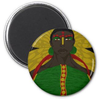 Yasmin Warsame Reference 4 (Sketchbook Pro) 2 Inch Round Magnet
