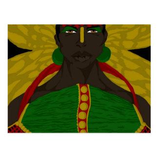 Yasmin Warsame Reference 4 (Sketchbook Pro) Postcard