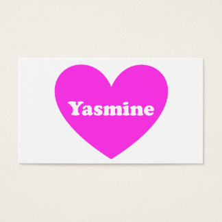 Yasmine Business Card