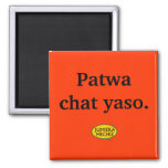 Yaso de la charla de Patwa Imán Para Frigorífico