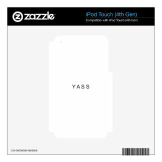 YASS Logo.png Skins For iPod Touch 4G