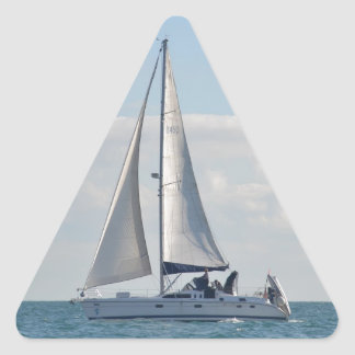 Yate Baloo Pegatina Triangular