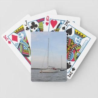 Yate Clara en el agachar Baraja Cartas De Poker