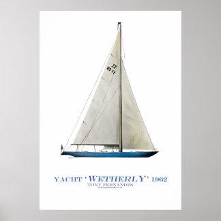 "yate de la taza de Américas ""wetherly"", fernandes Posters"