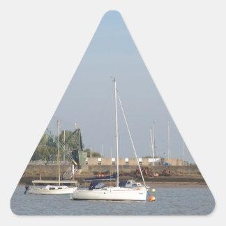 Yate Egale Pegatina Triangular