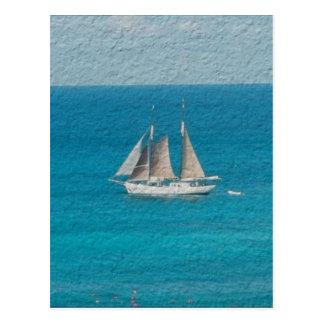 Yate en St. Maarten Postales