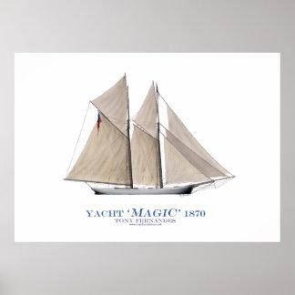 """yate """"magia"""" 1870, fernandes tony de la taza de impresiones"""