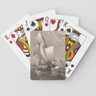 Yate que gana 1885 cartas de juego