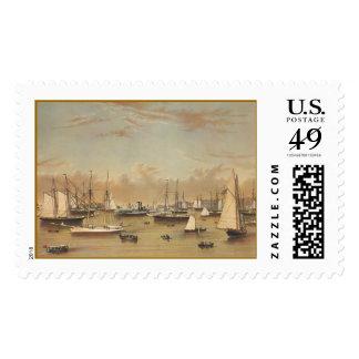 Yates en Newport Timbres Postales