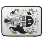 Yates Family Crest Sleeve For MacBook Pro
