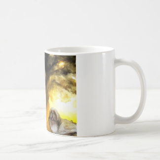 yawn in the sun.jpg coffee mug