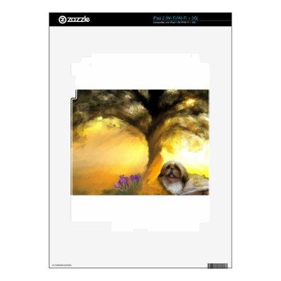 yawn in the sun.jpg skin for iPad 2