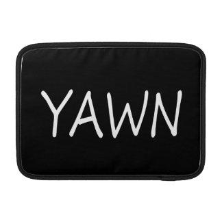 Yawn MacBook Sleeve