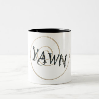 YAWN Two-Tone COFFEE MUG