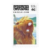Yawning Capybara Stamps