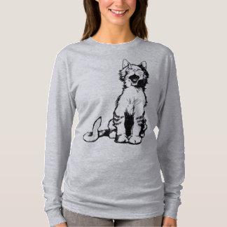 Yawning Cat T-Shirt