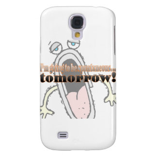 Yawning Galaxy S4 Cover