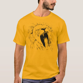 Yawning lion T-Shirt