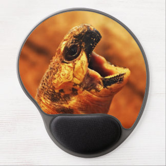 Yawning Radiated Tortoise Gel Mouse Pad