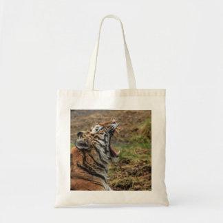 Yawning Tiger Bag