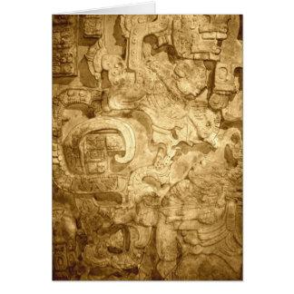 Yaxchilan Lintel # 25 Card